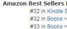 Amazon Rank Screencap