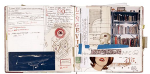 Screenshot from Smithsonian Magazine of Janice Lowry's journals